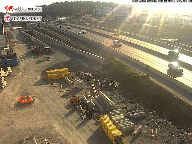Webbkamera - Förbifart Stockholm