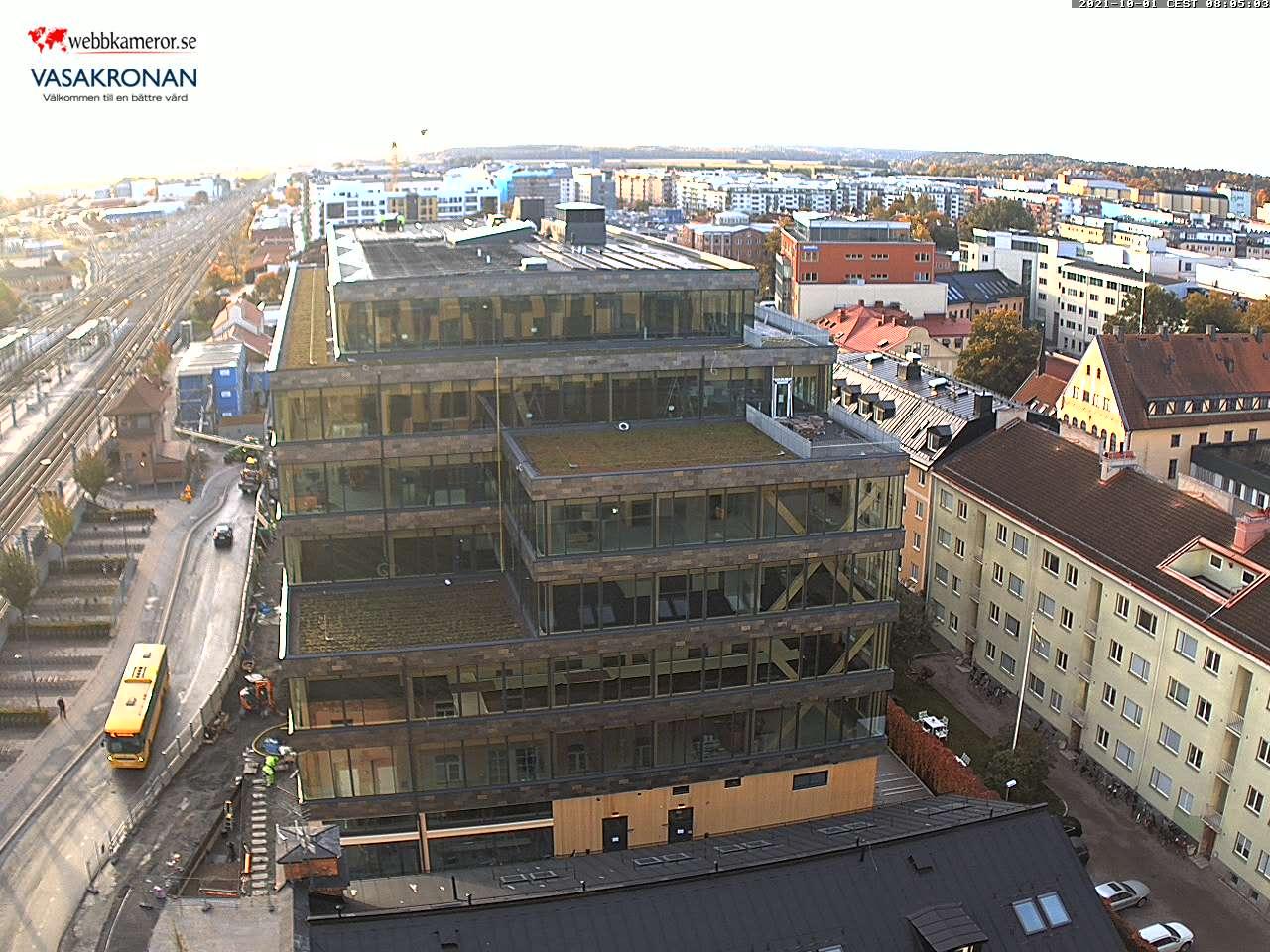 Webbkamera - Uppsala